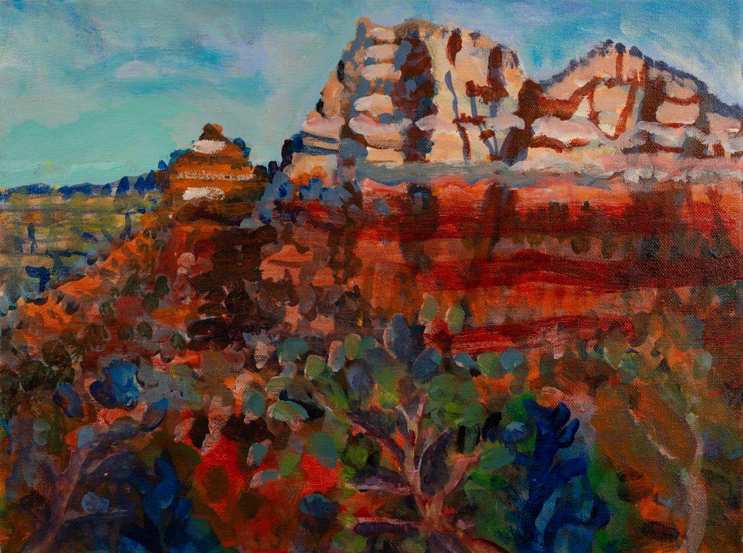 Minnesota Landscape Painter, Gillian Bedford, Sedona-Scape