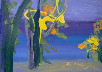 Gillian Bedford Acrylic Painting, 240 Lake Bemidji no. 3